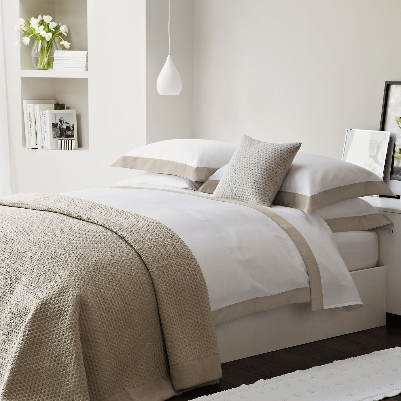 White Taupe Bedding Bed Linens Luxury Bed Taupe Bedding