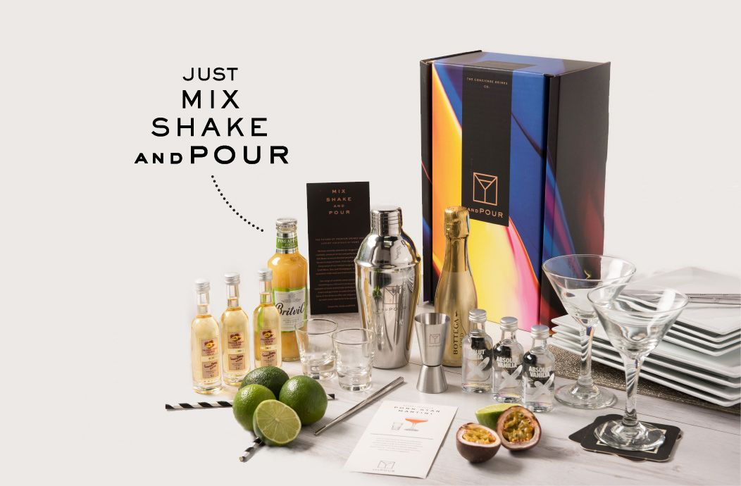 Cocktail gift packs delivered cocktail subscription