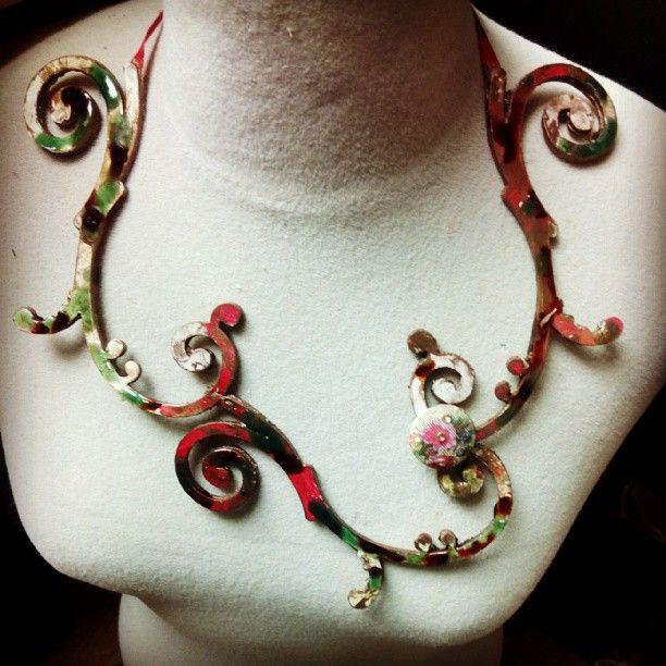 My handmade Necklace.