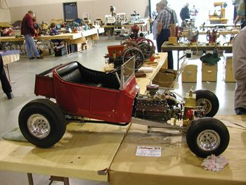 13 Scale Moyer Made Miniature Engines Challenger V8 Pedal Cars