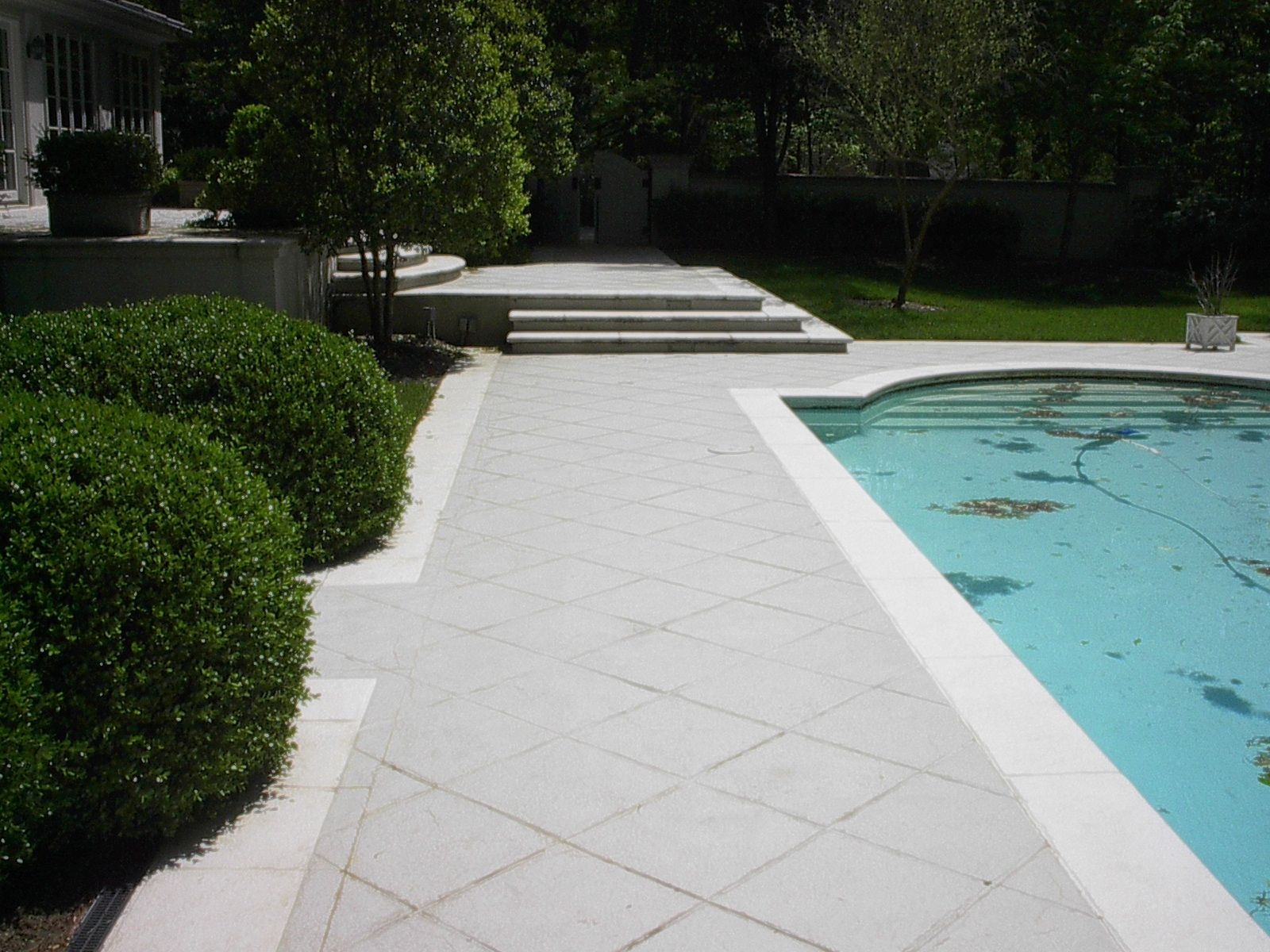 Concrete Pool Patio Stamped Concrete Home Pinterest Grey