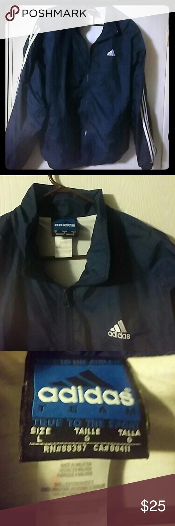 Jacket Ca 00411 Adidas Sz L Rn 88387 Jacketsamp; Coats CxdBoer