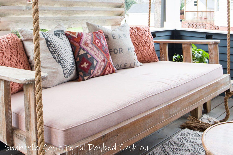 Sunbrella Daybed Custom Cushion Twin Bed Size Home Decor