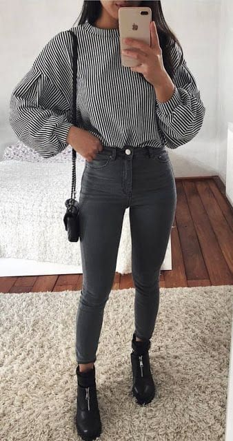 45 Stylish Winter Outfits You Will Love / 08 #Winter #Outfits – #love #Outfits #Stylish