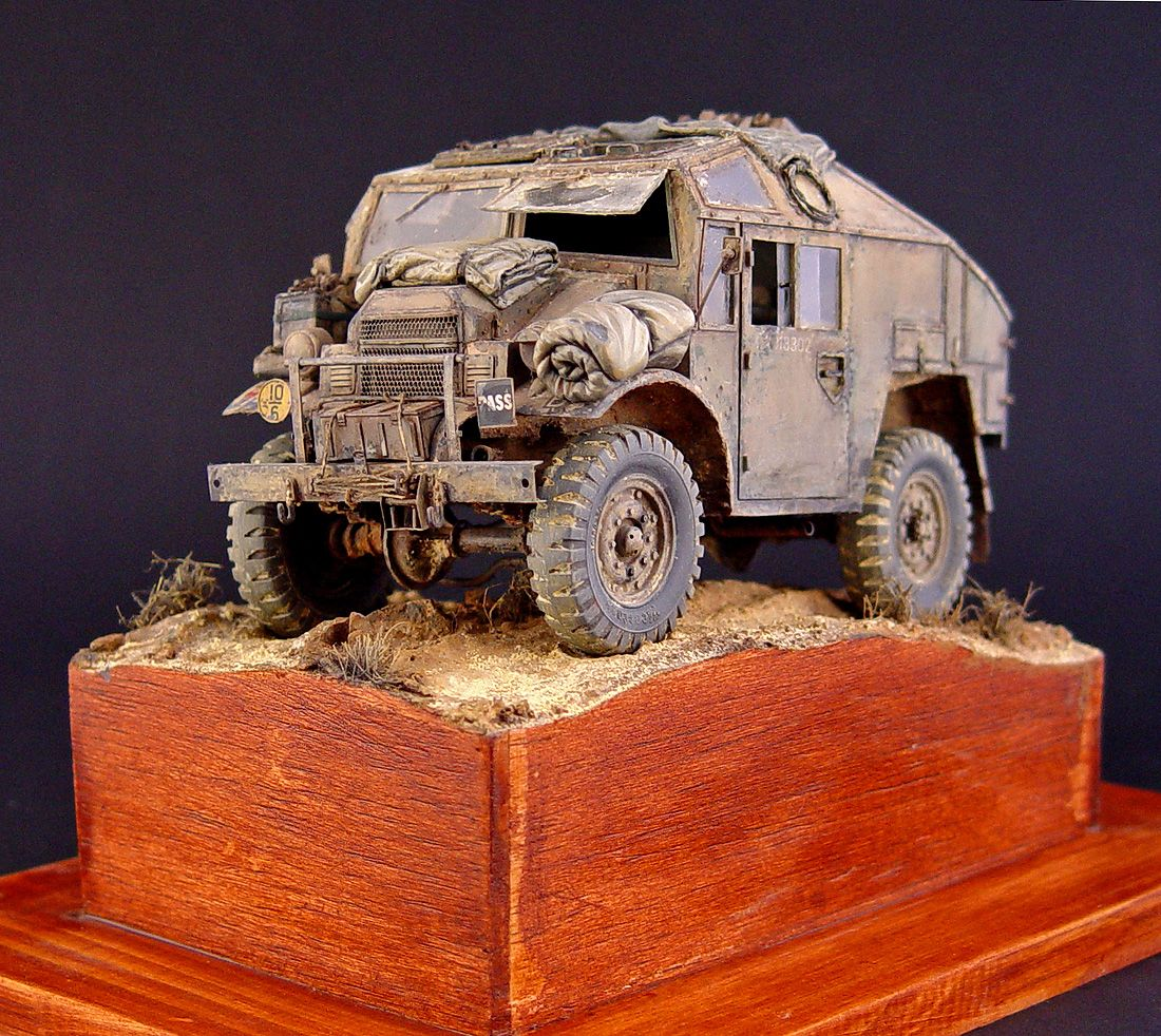 Gun Quad Tractor (Tamiya 1/35) by Panzerflix