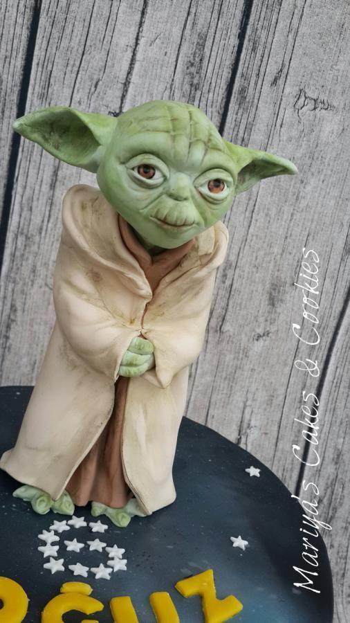 Star Wars Yoda Cake Cake By Mariya S Cakes Cookies 粘土人形