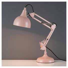 Tesco Direct: Dorset Desk Lamp, Chalk Pink