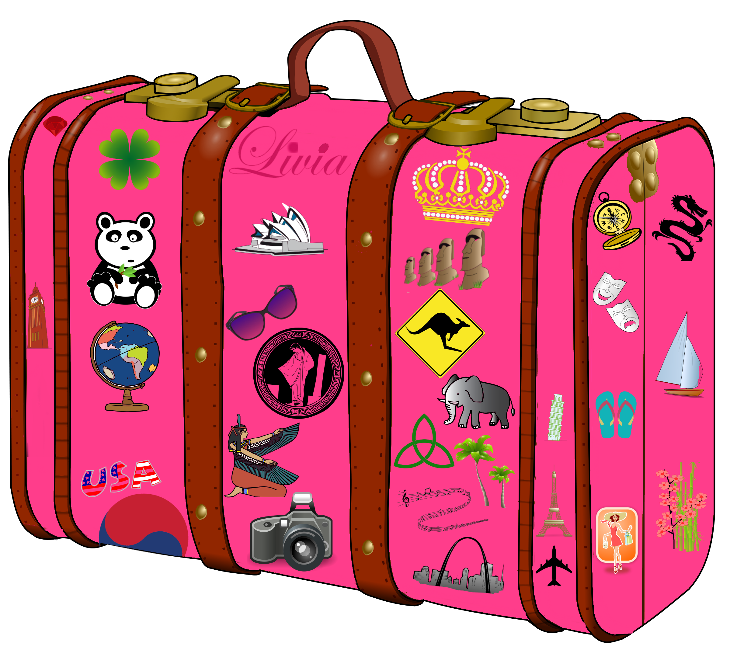my suitcase suitcase rh pinterest com luggage clipart gif luggage clipart images