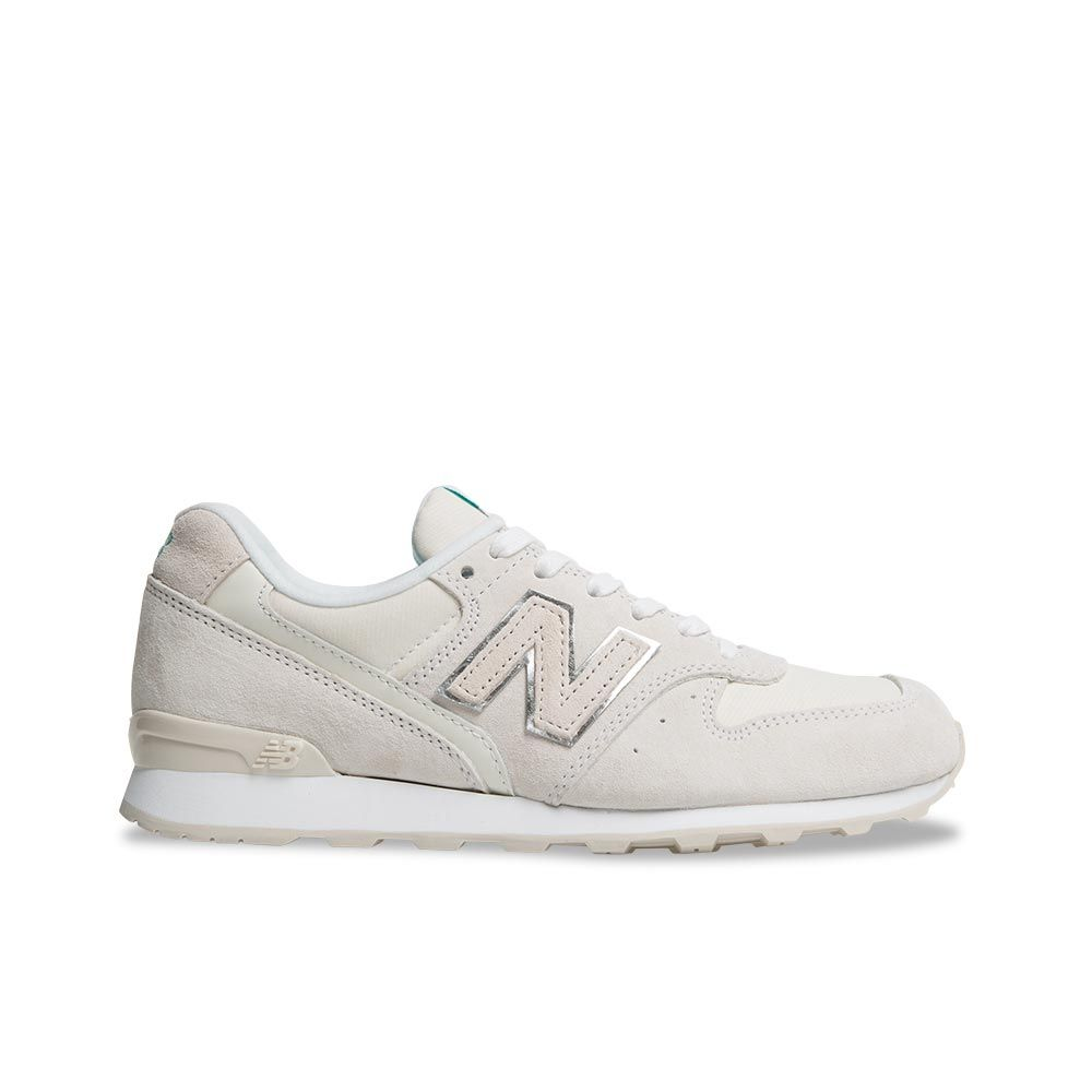 new balance 996 suede trainers in beige