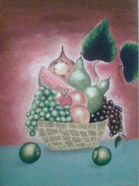 Mi primer  cuadro pintado en 2009  con acrílico