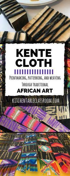 Kente Cloth Exploring Prints Patterns And Weaving Through