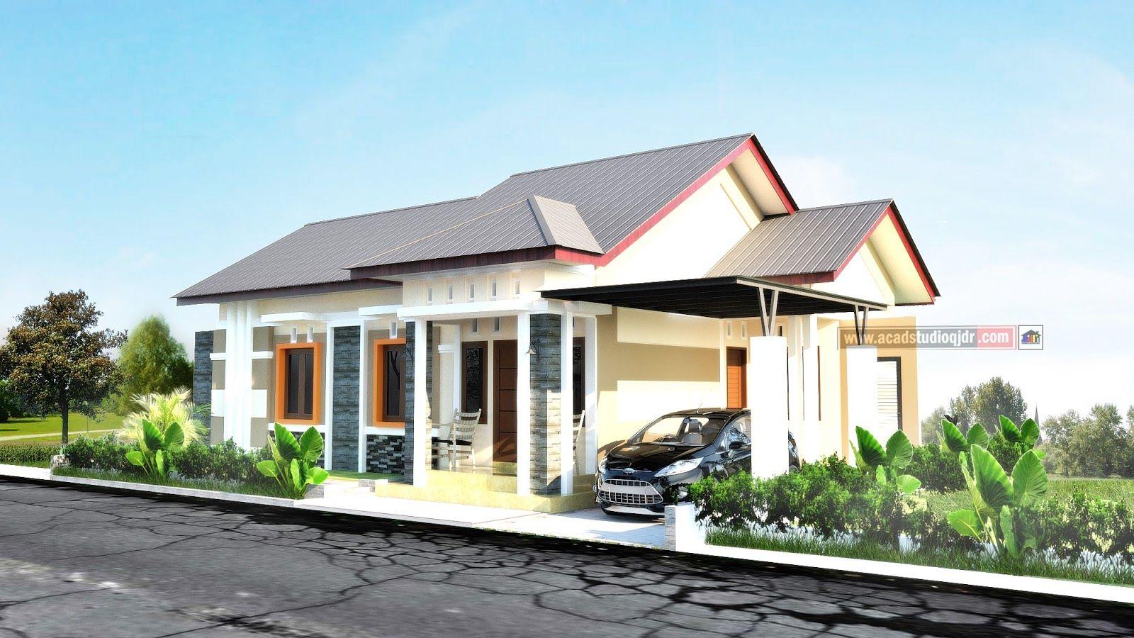 Rumah Memanjang Ke Samping Milik Bapak Restu Papua Jasa Desain Rumah Di 2020 Rumah Desain Rumah Desain