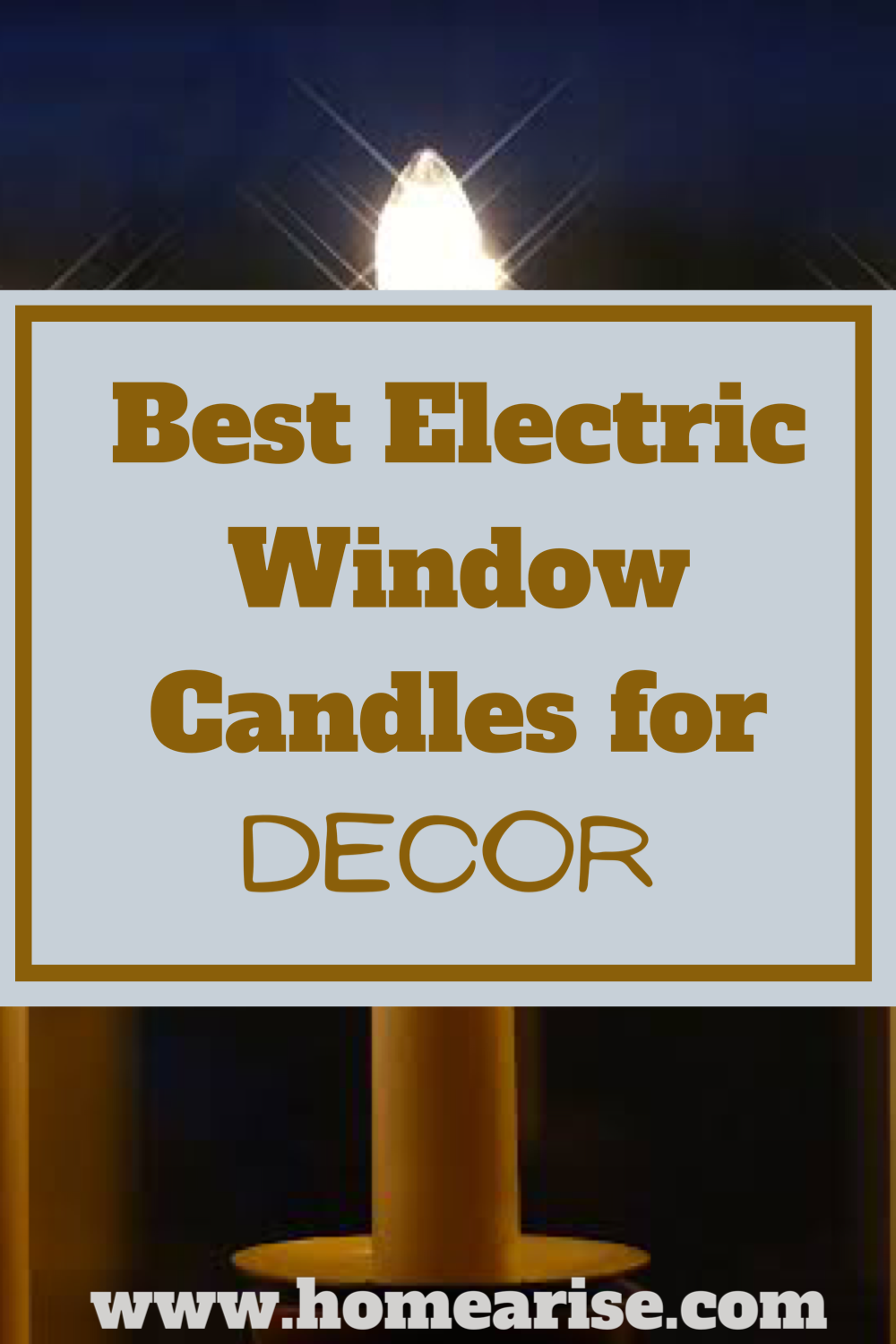 How To Pick The Best Electric Window Candles For Your Decor In 2020 Window Candles Electric Window Candles Best