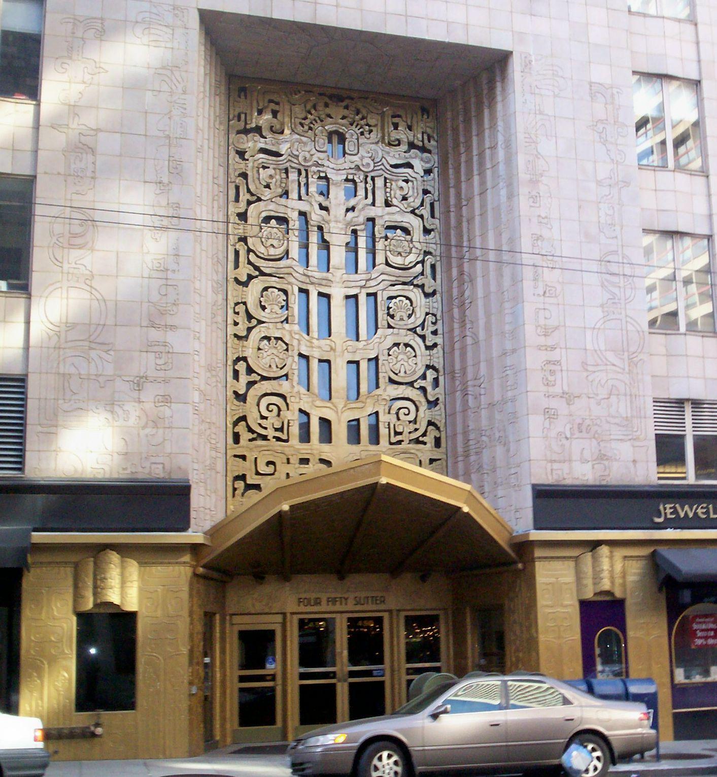 Art Deco, 450 Sutter, San Francisco.