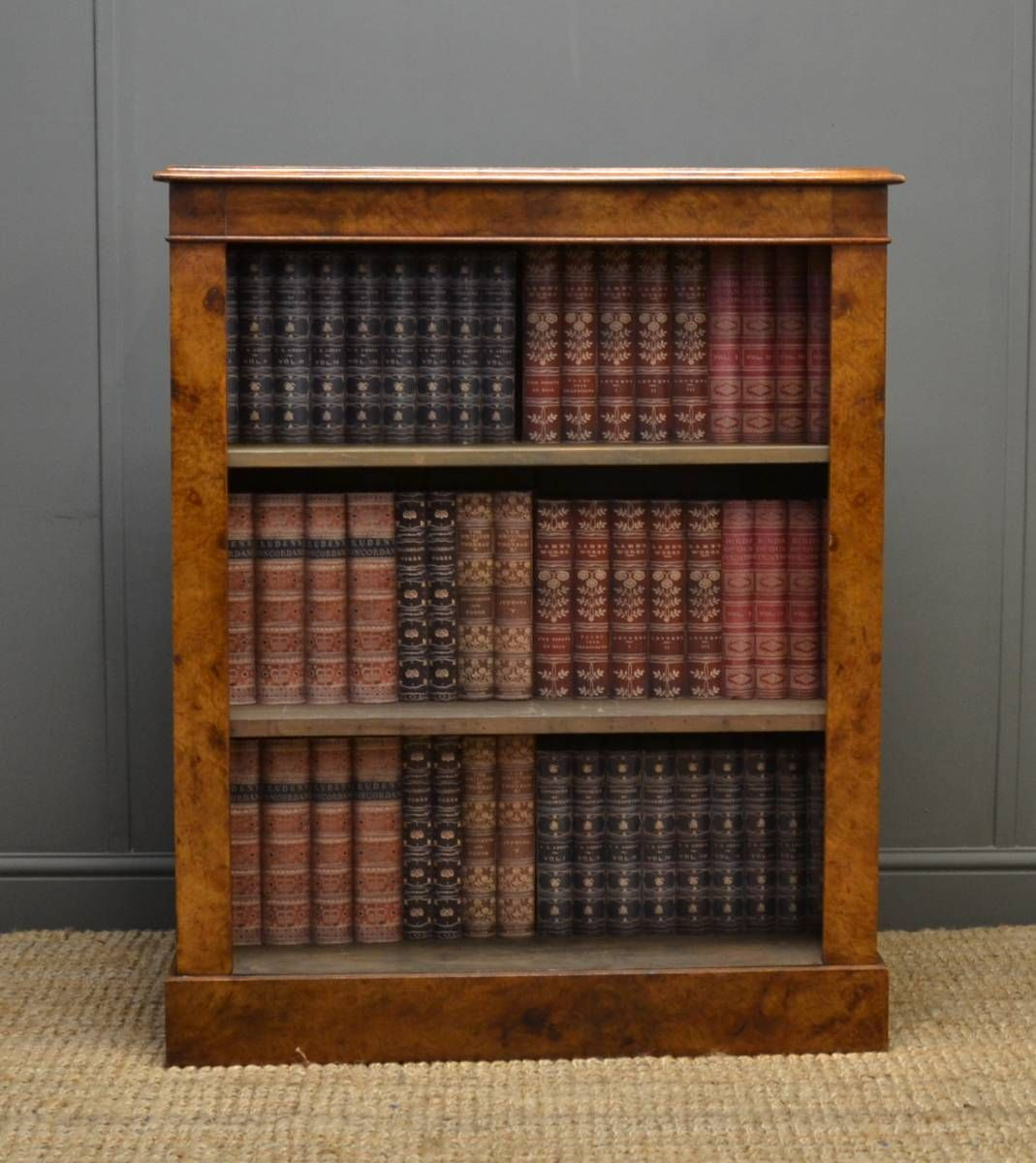 Antique Open Bookcases Book Art And Book Odds And Ends