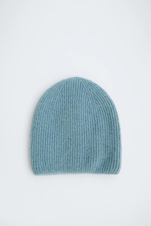 Hats Headbands Accessories Collection Woman Zara United Arab Emirates Zara Knitted Hood Beanie