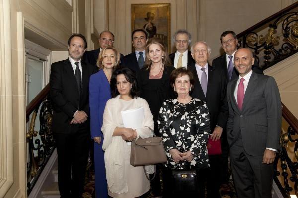 Reina Noor y los miembros del Jurado de los Takreen Awards