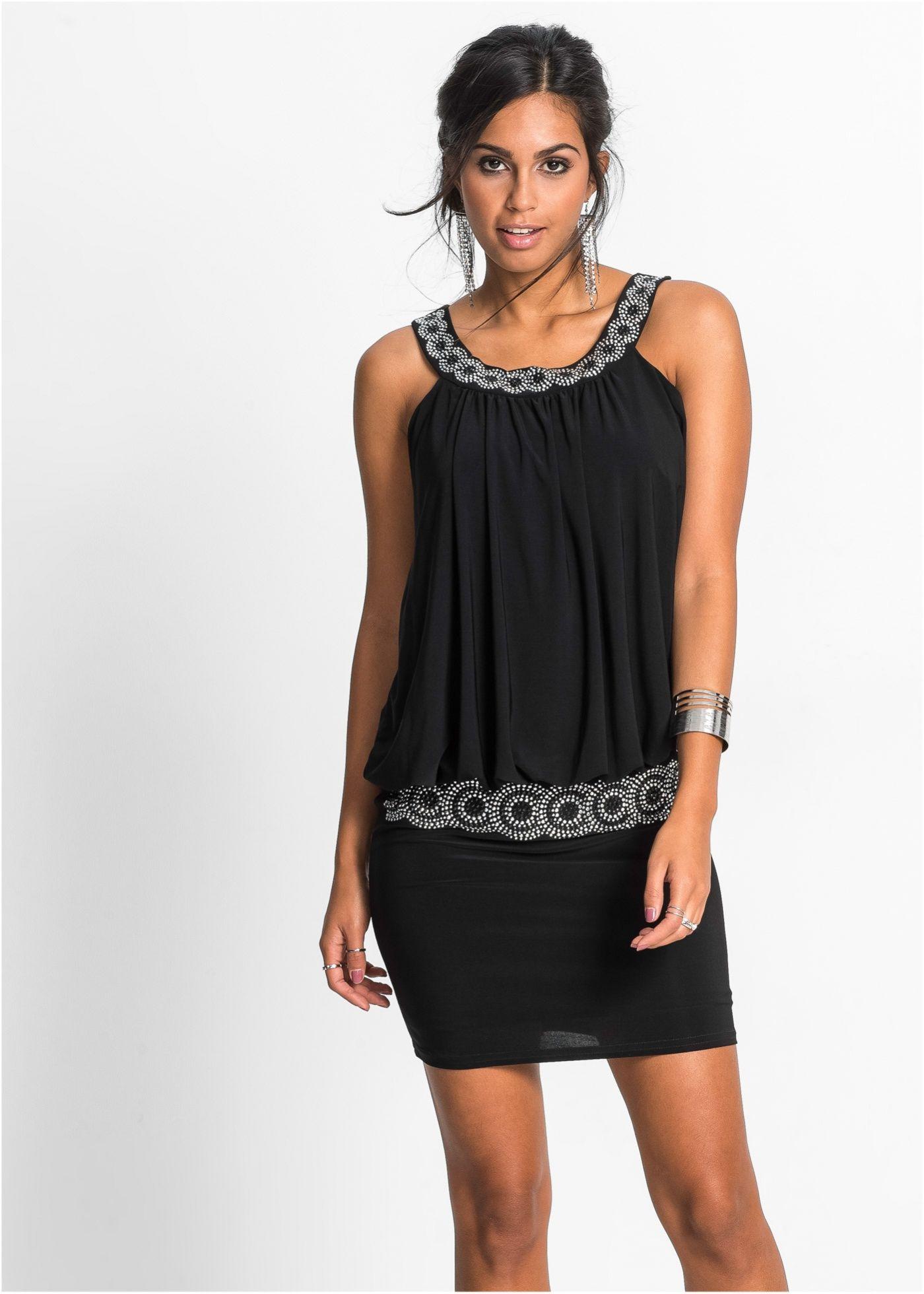 cocktail-kleid schwarz - bodyflirt jetzt im online shop von