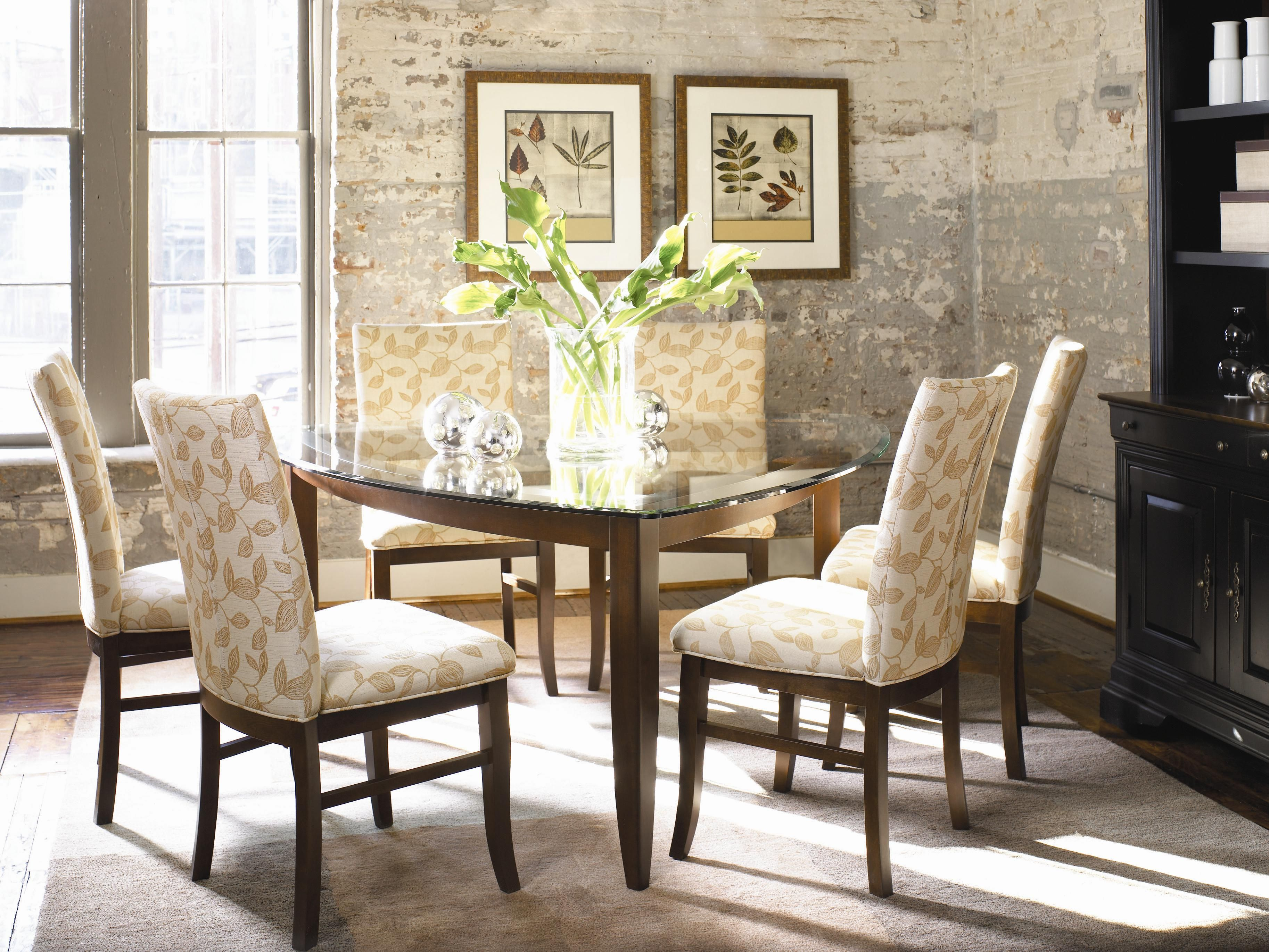 Color Café  Custom Dining Casual Dining Room Groupthomasville Endearing Thomasville Dining Room Chairs Design Ideas