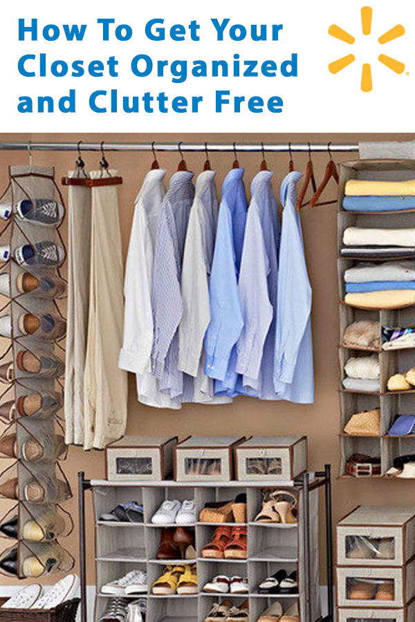 Get Your Closet Organized And Clutter Free With These 5 Easy Tips. Find  Organizers