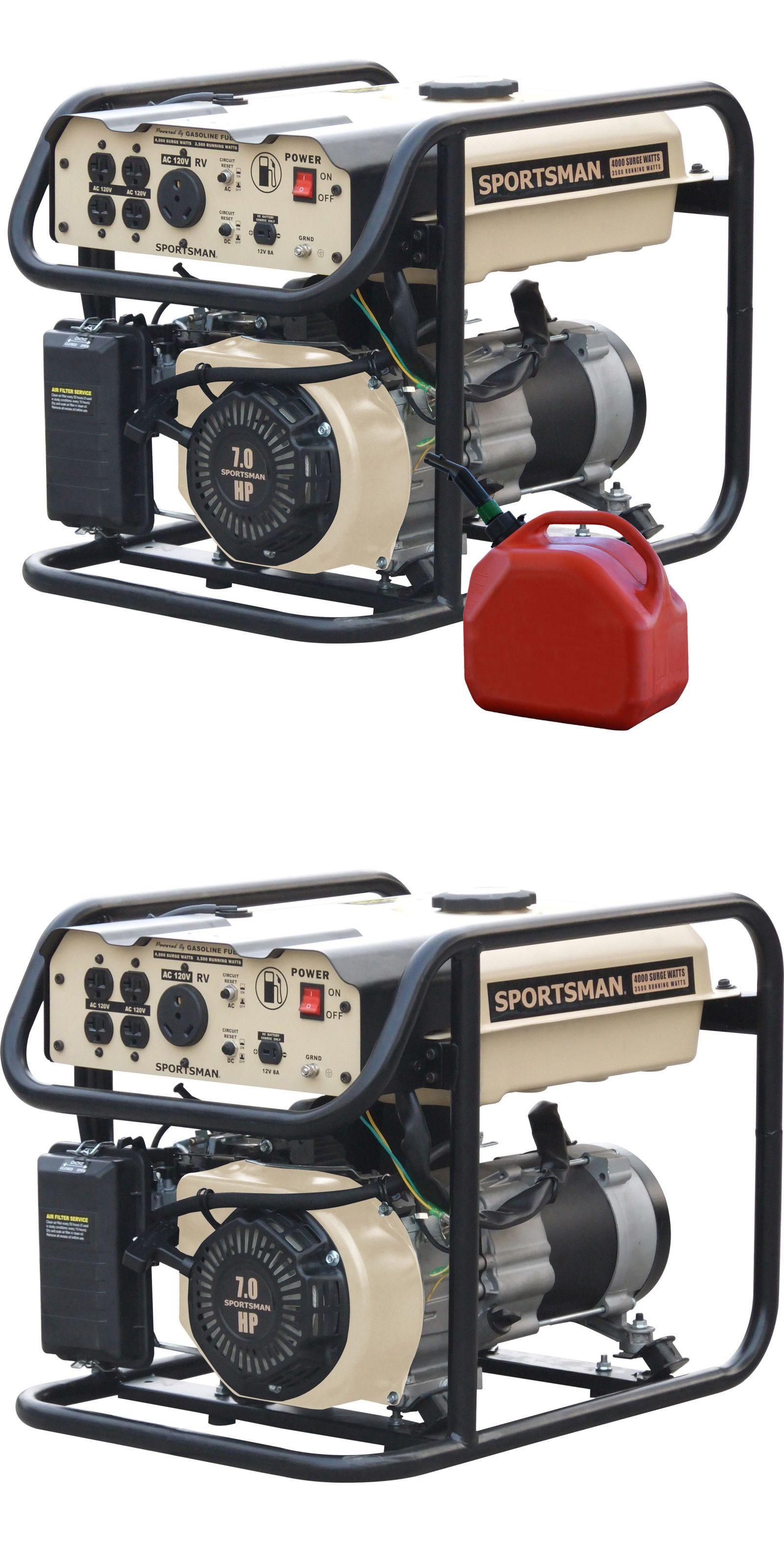 Generators 33082 4000 Watt Generator Gasoline Portable Sportsman Power On Reset Camping Emergency Station Buy It Now Only 24952 Ebay