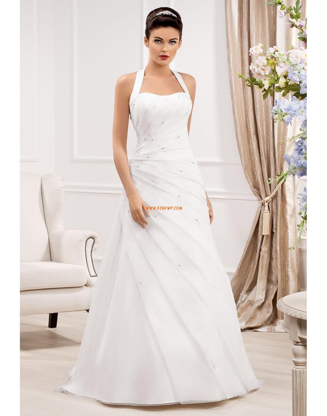 Frühling 2014 Neckholder 3/4 Arm Brautkleider 2014 | Billig ...