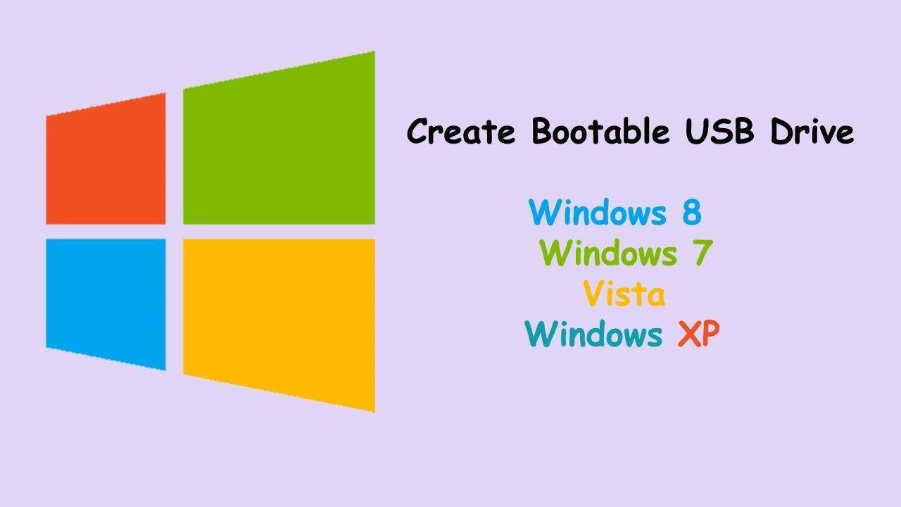 how to make a windows xp bootable usb