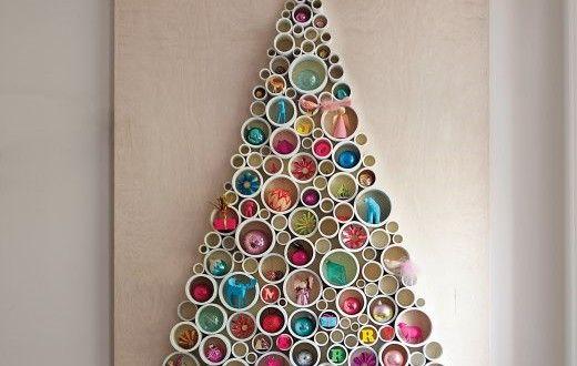 Le sapin de Noël fait maison