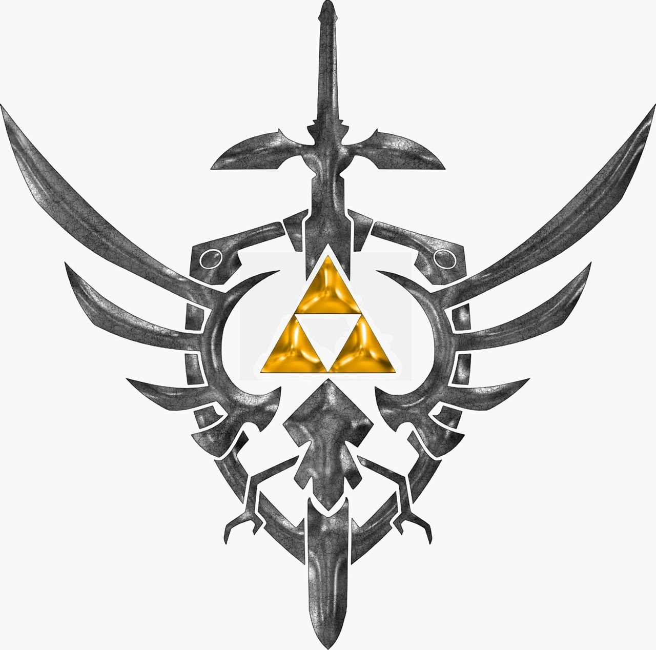 Sword Shield Amp Tri Force Zelda Pinterest Tattoo