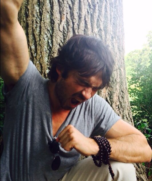 Ian's Instagram pic 10/7/14. Ian is reacting to the news that Years has been nominated.