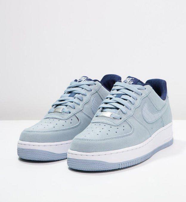 Nike Sportswear AIR FORCE 1 07 SEASONAL Baskets basses blue grey, Baskets  Femme Zalando ...