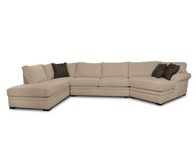 Shop For Jonathan Louis International Hermes Ii 3 Pc Sectional G61426 With Right Arm Chaise On Left Hand Side Instead Of Open Chaise I Living Room Sectional Room Furniture