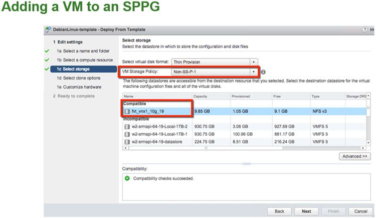 VMware Site Recovery Manager 6.1 Details ESX