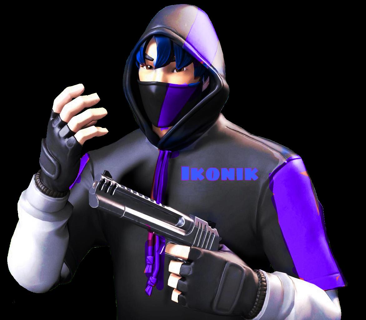 freetoeditikonik blue purple fortnite skin jg