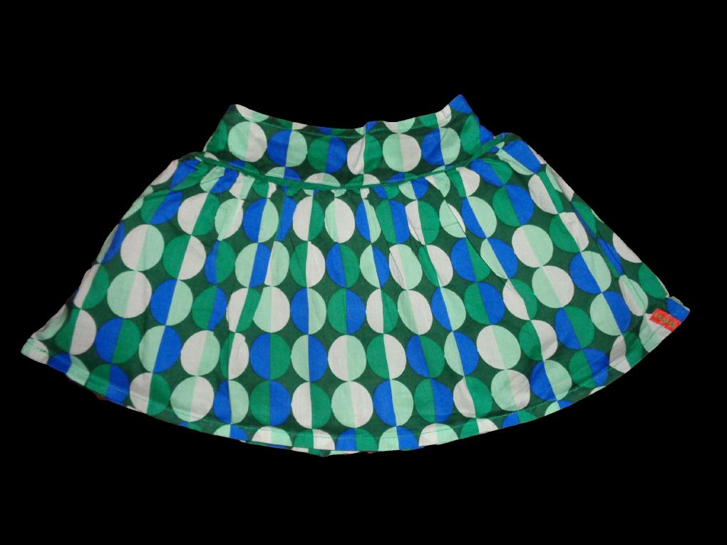Maat 98 Rok Blauw/groen print  Merk Smart&Pretty