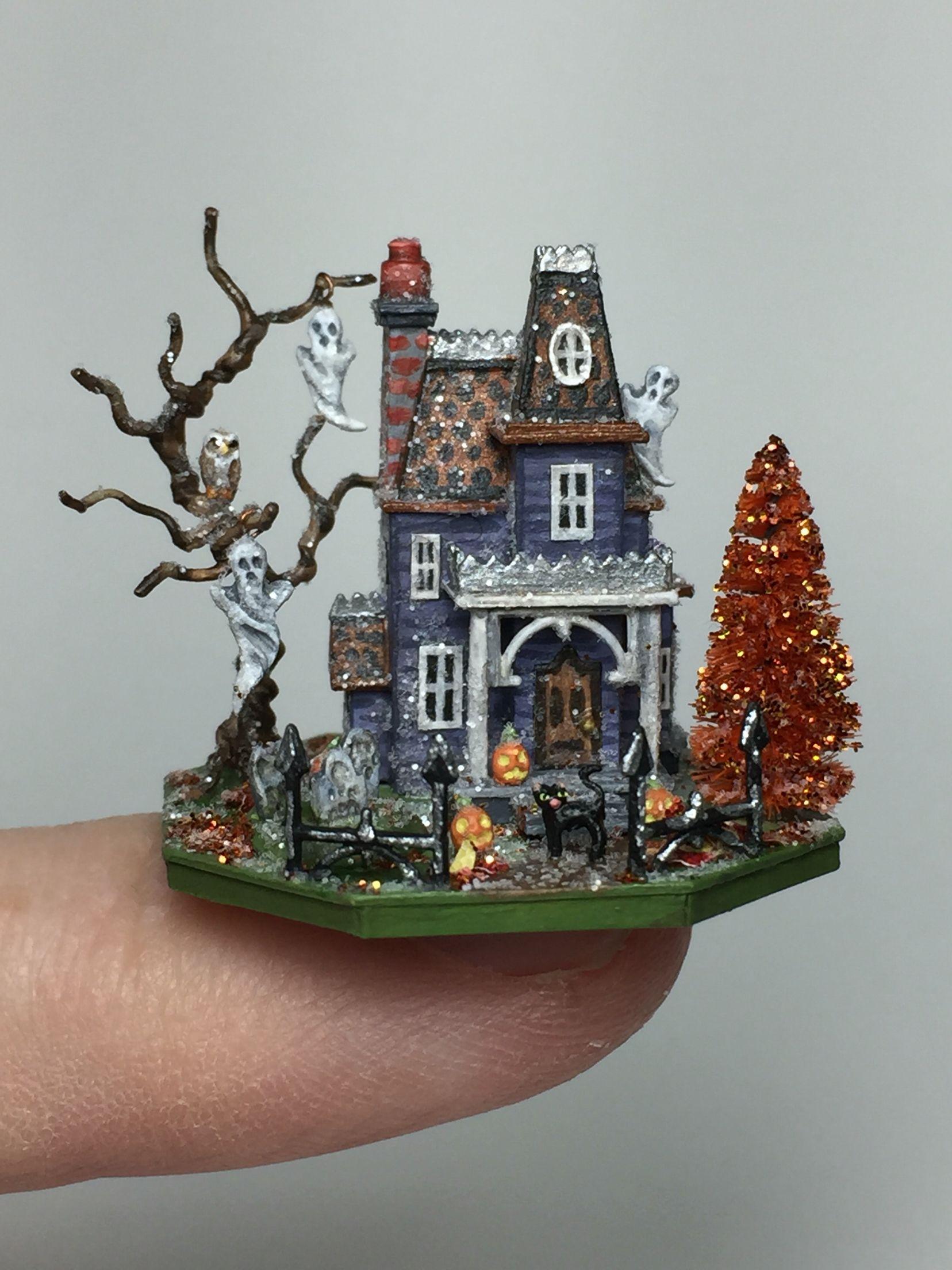 Halloween Glitter House Halloween MINIS Pinterest