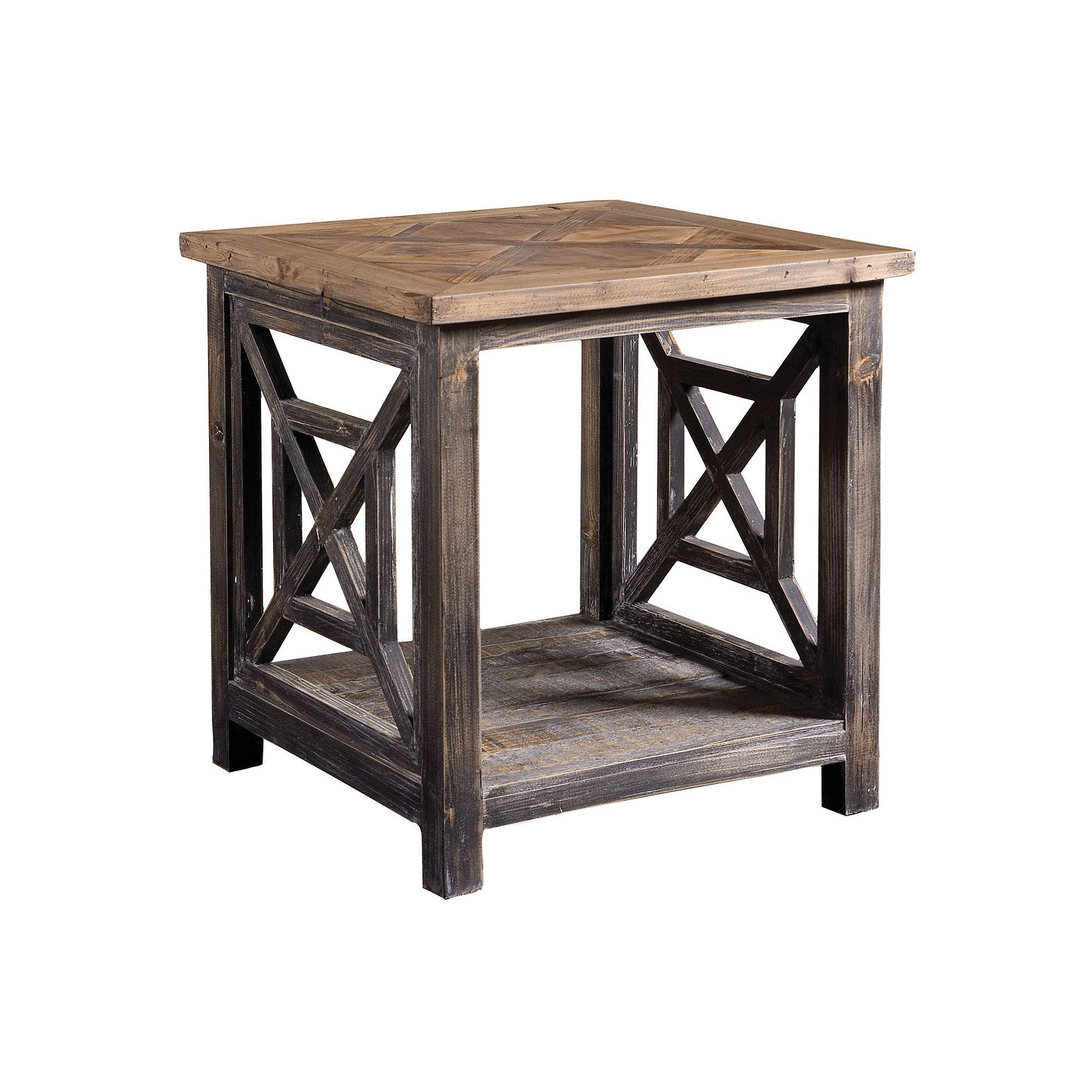 Spiro End Table Wood End Tables Wood Home Decor Rustic Furniture
