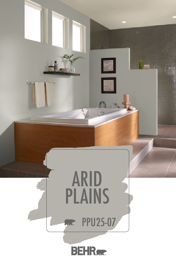 the bathroom of your dreams starts with a new coat of behr
