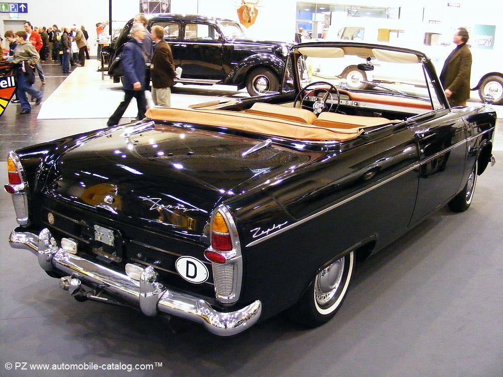 1956 Ford zephyr zodiac mk II convertible