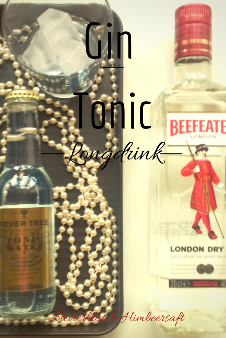 Wunderschön Longdrink Rezepte Das Beste Von Cocktail Rezept Gin Tonic - Beefeater Gin
