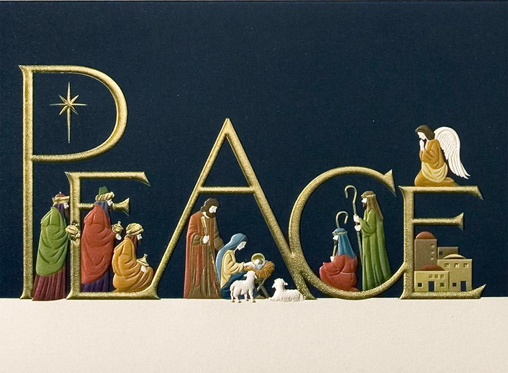 Here are the religious personalized christmas cards which you can ...