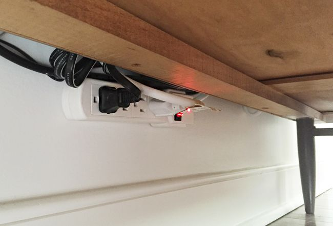 How To Hide TV Wires For A Cord-Free Wall | Hide wires | Pinterest