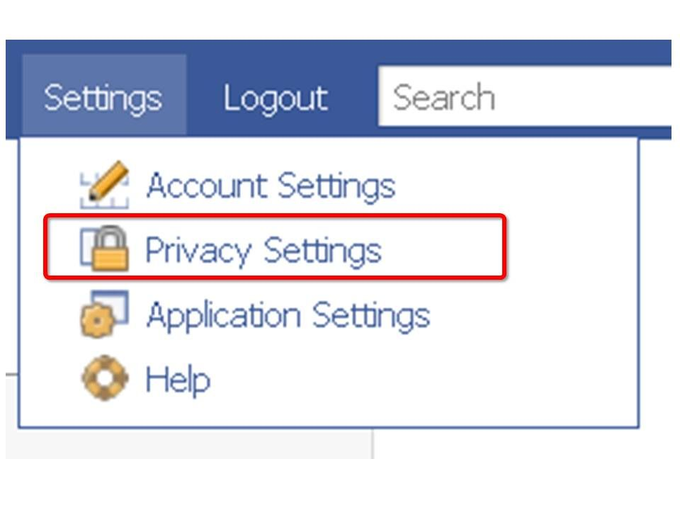Image result for social media privacy settings