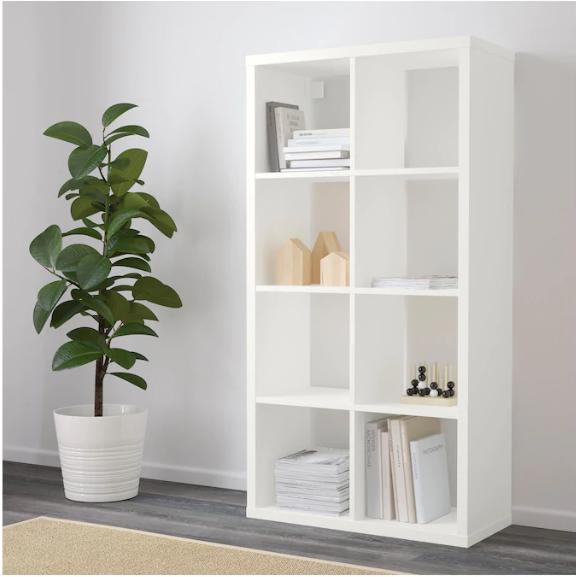 FLYSTA Étagère - blanc 69x132 cm en 2020   Mobilier de salon, Rayonnage et Ikea