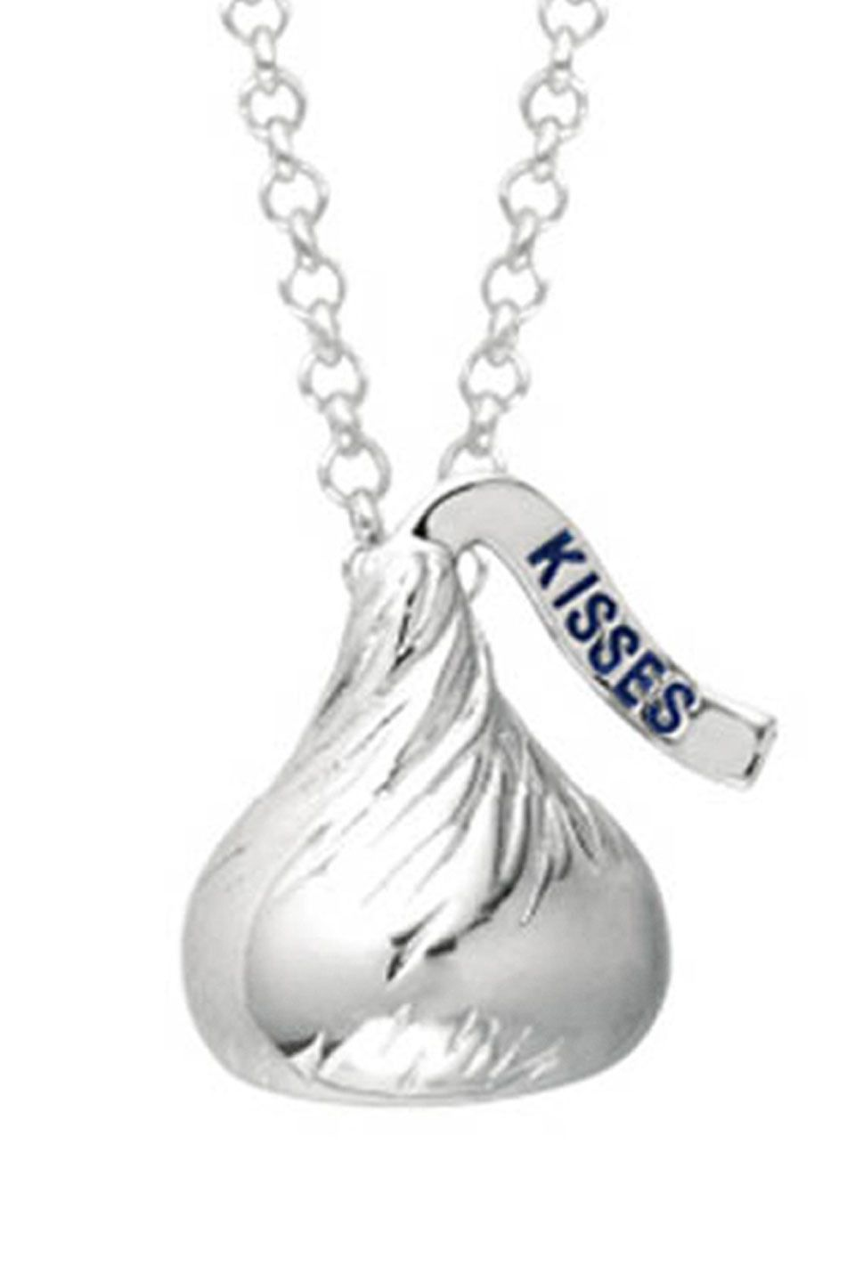 Hershey kisses pendant sterling silver necklace jewelry jubilee hershey kisses pendant sterling silver necklace mozeypictures Image collections