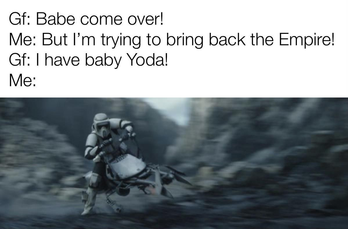 Omw To Punch Baby Yoda Thorgift Com If You Like It Please Buy Some From Thorgift Com Star Wars Memes Movie Memes Funny Memes