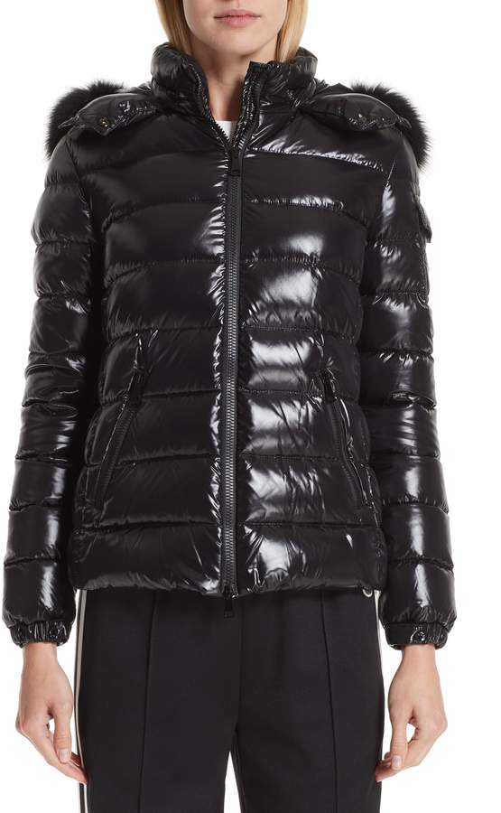 Moncler Badyfur Down Puffer Jacket with Detachable Genuine