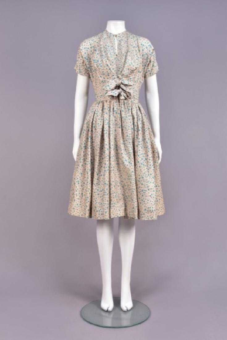 CLAIRE McCARDELL PRINTED SILK DAY DRESS   Dresses, Day