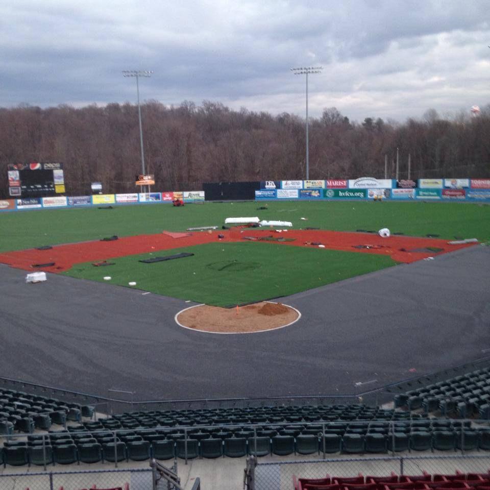The Field Transformation Day 32 Baseball Baseballfield Turf Turffield Field Fields