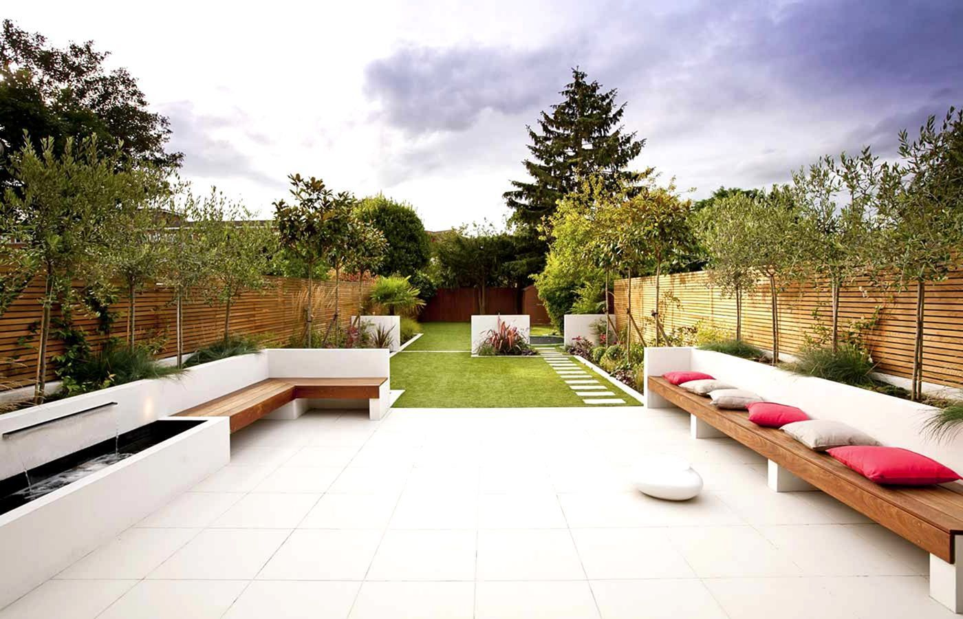 30 Fantastic Modern Backyard Landscaping Designs For Your ... on Long Narrow Yard Landscape Design Ideas id=86489
